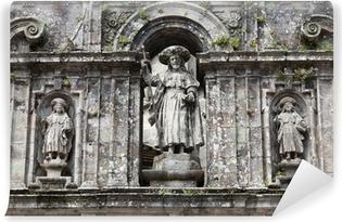 Fotomural Lavable Santiago de Compostela Catedral: la escultura de Santiago