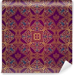 Fotomural Lavable Vector patrón transparente en estilo oriental.