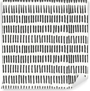 Fotomural Estándar Líneas abstractas Seamless pattern.