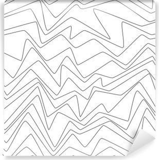 Fotomural Estándar Líneas mínimas de repetición sin fisuras strpes abstractos textil de papel modelo de la tela