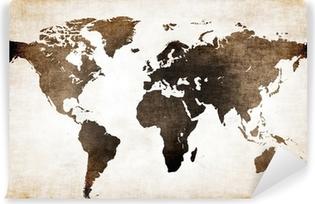 Fotomural Estándar Mapa mundi antiguo