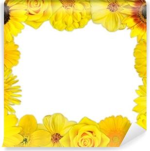 Murales De Flores Amarillas