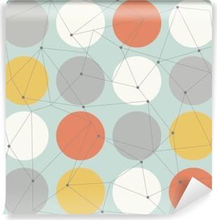 Fotomural Estándar Modernos patrón transparente geométrica escandinavo