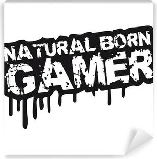 Fotomural Estándar Natural Born Gamer Stempel Graffiti
