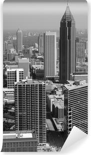 Fotomural Estándar Negro y blanco Atlanta