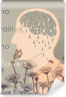 Fotomural Estándar No rain, no flowers
