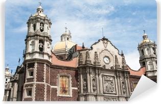 Fotomural Estándar Nuestra Señora de Guadalupe en la Ciudad de México santuario