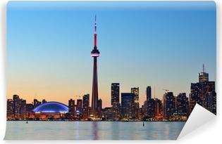 Fotomural Estándar Paisaje urbano de Toronto