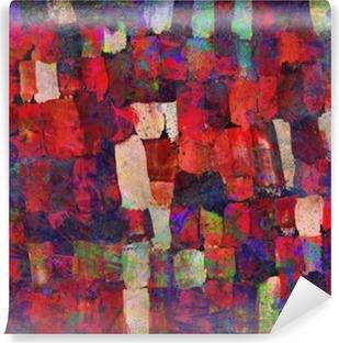 Fotomural Estándar Pintura del arte abstracto