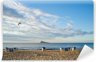 Fotomural Estándar Playa de Benidorm