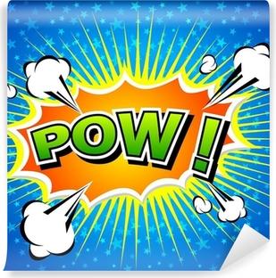 Fotomural Estándar Pow! - Speech Bubble Comic, dibujos animados