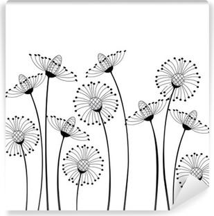 Fotomural Estándar Prado y flores