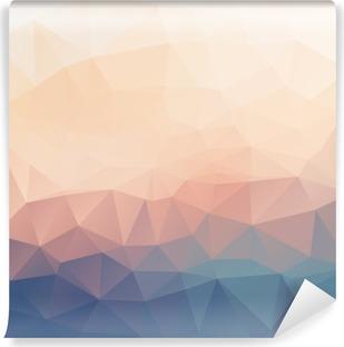 Fotomural Estándar Resumen textura de fondo poligonal.