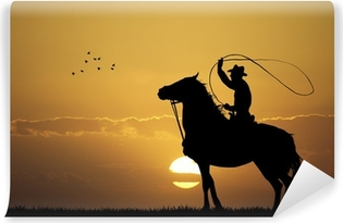 Fotomural Estándar Rodeo Cowboy