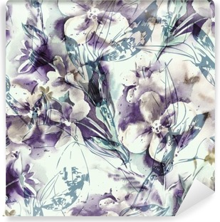 Fotomural Estándar Seamless floral