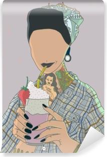 Fotomural Estándar Sin rostro Mujer - Ricardo X Parker