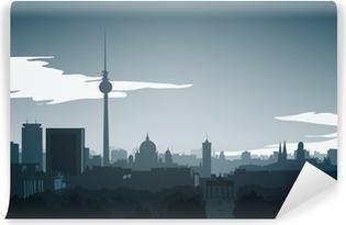 Fotomural Estándar Skyline-berlin-mitte de final