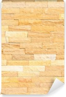 Fotomural Estándar Textura de la pared de ladrillo para el fondo