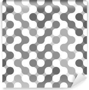 Fotomural Estándar Vector patrón geométrico de los círculos.