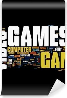 Fotomural Estándar Video games