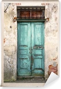 Fotomural Estándar Vieja fotografía puerta de la vendimia