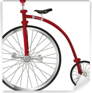 Fotomural Estándar Viejo circo bicicleta