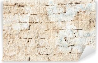 Fotomural Estándar White brick wall
