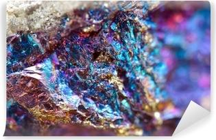 Vinyl-Fototapete Abstrakt Hintergrund aus einem Metall Mineral.