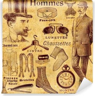 Vinyl-Fototapete Accessoires für Männer