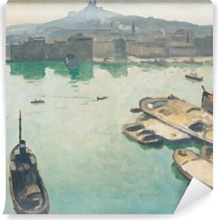 Vinyl-Fototapete Albert Marquet - Hafen von Marseille