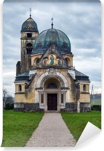 Vinyl-Fototapete Alte orthodoxe Kirche in der Nähe von Pribic Zagreb, Kroatien
