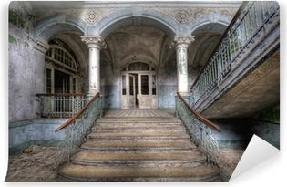 Vinyl-Fototapete Alte Treppe in Beelitz