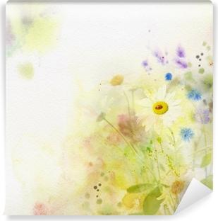 Vinyl-Fototapete Aquarell-Hintergrund