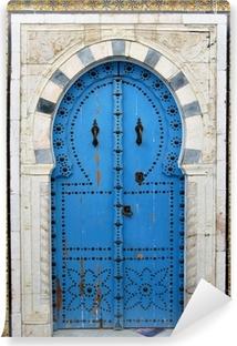 Vinyl-Fototapete Arabische Tür