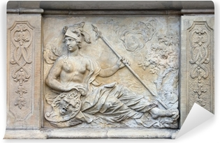 Vinyl-Fototapete Athena Relief in Danzig