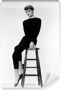 Vinyl-Fototapete Audrey Hepburn