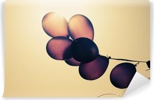 Vinyl-Fototapete Ballone