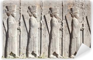 Vinyl-Fototapete Bass Reliefdekor in Persepolis
