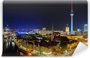 Vinyl-Fototapete Berlin Fernsehturm