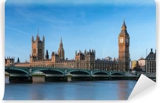 Vinyl-Fototapete Big Ben London England