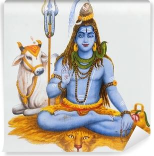 Vinyl-Fototapete Bild von Shiva