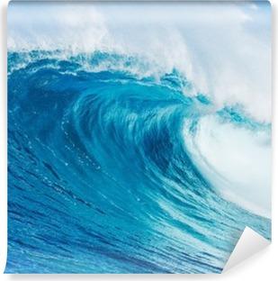 Vinyl-Fototapete Blaue Welle