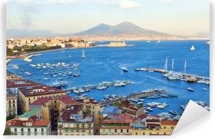 Vinyl-Fototapete Blick auf die Bucht von Neapel