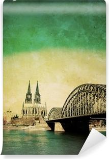 Vinyl-Fototapete Blick auf Kölner Dom