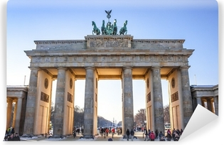 Vinyl-Fototapete Brandenburger Tor in Berlin - Deutschland