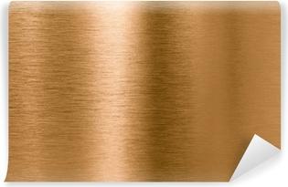 Vinyl-Fototapete Bronze oder Kupfer-Metall-Textur Hintergrund