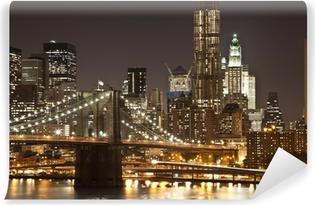 Vinyl-Fototapete Brooklyn bridge