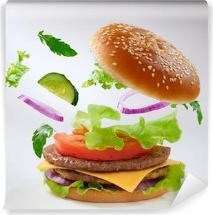 Vinyl-Fototapete Burger
