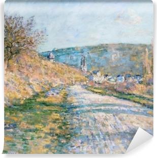 Vinyl-Fototapete Claude Monet - Der Weg nach Vétheuil