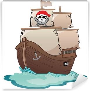 Vinyl-Fototapete Corsair Segelboot